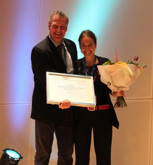 Veronique Moulaert wint PHD-thesis award VRA